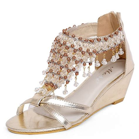 silver beaded sandals buy wholesale silver beaded sandals from china