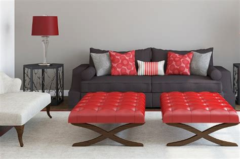 what color pillows for red couch red and black couch risk and passion in one thing