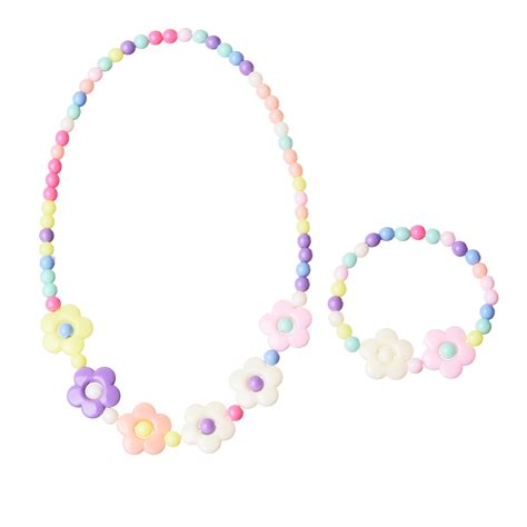jewelry for children 7 style acrylic jewelry colors bubblegum flower