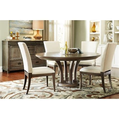 round dining room sets for 6 american drew park studio 6 piece round dining room set