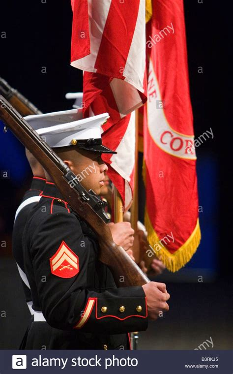 marine corps color guard marine corps color guard stock photos marine corps color