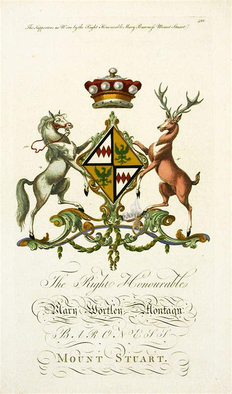 armorial segar segar heraldic crests baronagium geneaologicum 1764