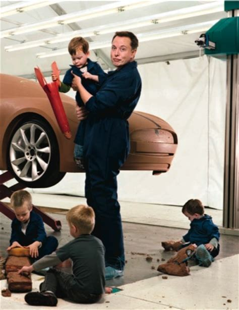 elon musk kids elon musk and his tesla model s design team