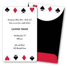1000 Images About Party Time Casino Royale On Pinterest Casino Party Casino Night And Las Casino Theme Invitations Template Free
