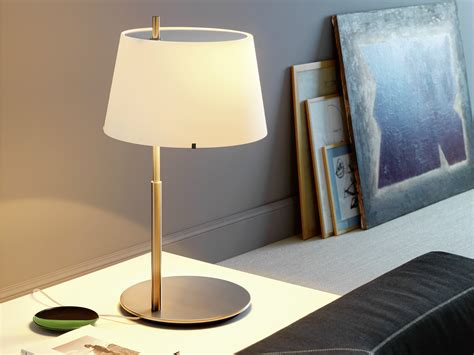 table l with dimmer brass table l with dimmer ic lights t by flos design