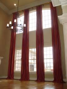 Curtains For Palladian Windows Decor Two Story Curtains On A Rod Now To Find The House For Them Haha Room Decorations