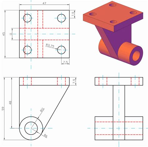 progettazione meccanica dispense esempi disegni meccanici autocad solidworks rhinoceros