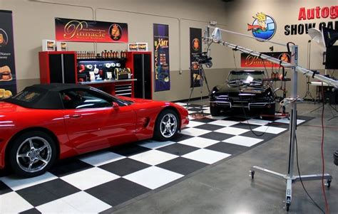 Design Your Own Garage video shoot with matt steele at autogeek s show car garage