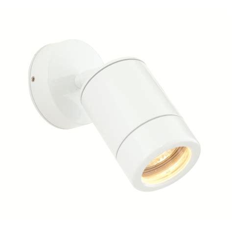exterior spot light fixtures odyssey outdoor white spotlight st5010w the lighting