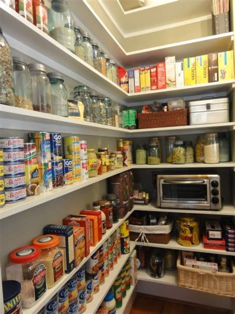 Shallow Pantry Shelves Shallow Shelves Where You Can See Everything Without