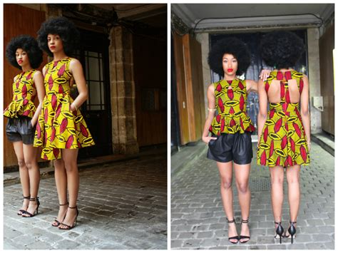 tenues africaines en tissu pagne cosmopolite beaut 233 byn french challenge le pagne ce