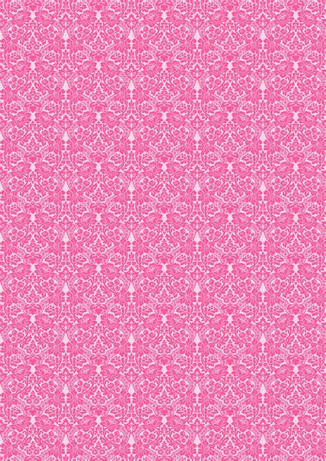 pink damask pattern free digital pink damask scrapbooking paper