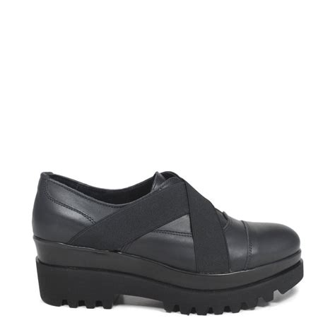 oxford wedge shoes oxford shoes with wedges and elastic made in