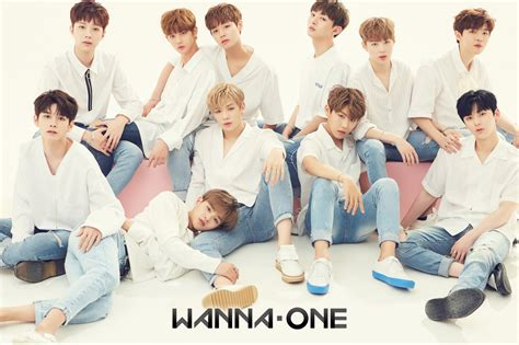 wanna one wanna one shows off chemistry in first group profile