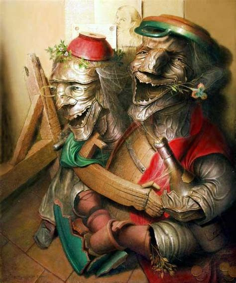 the surreal paintings of andre martins de barros laughter by andre martins de barros