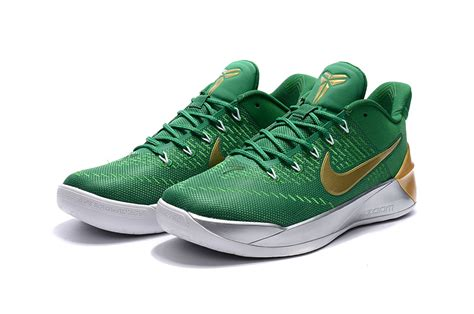 green and gold basketball shoes nike a d sports shoes green gold