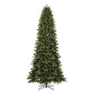 aspen fir 9 pre lit deluxe aspen fir tree sears