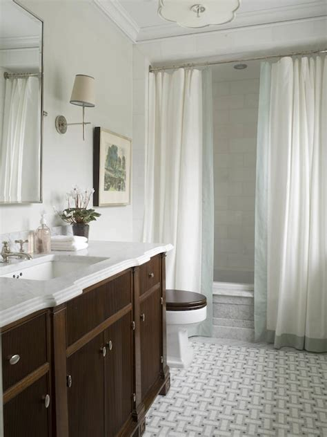 Shower Curtain For Small Bathroom Bathroom Ideas Traditional Bathroom Graciela Rutkowski Interiors