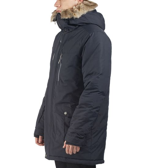 mens parka hoodie jacket bench nomen coat water
