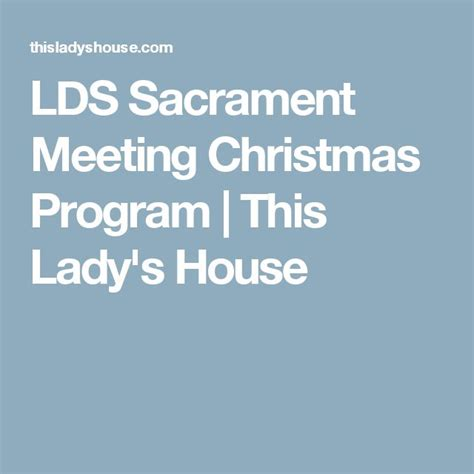 9 best sacrament meeting christmas program images on