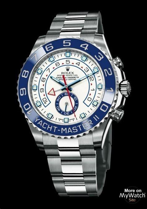 rolex  yacht master ii   steel matt white