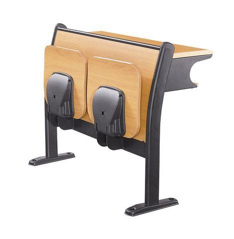 China Wooden University Desk And Chair Set Folding Folding Student Desk Chair
