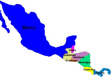map of south america including mexico speaking countries maps