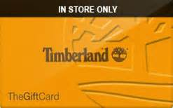 Timberland Gift Card - buy timberland in store only gift cards raise