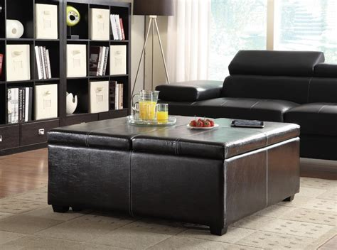 Living Room Tables With Storage Black Coffee Tables With Storage Home Design Ideas