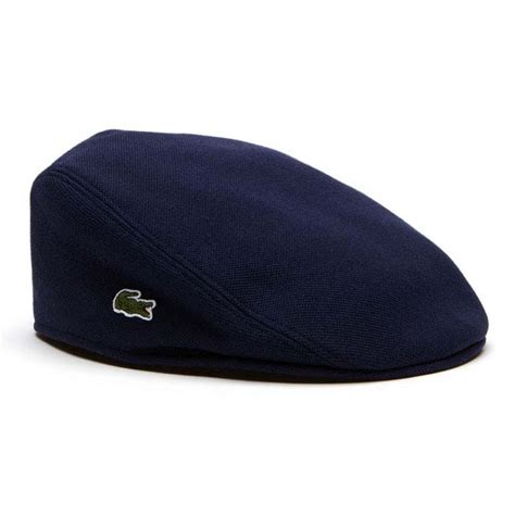 Flat Lacoste lacoste flat cap blue buy and offers on dressinn