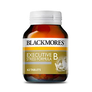 Blackmores Executive B 62 Bpom Kalbe blackmores executive b stress formula 62 tablets amcal