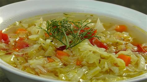 cabbage vegetable soup recipe dishmaps