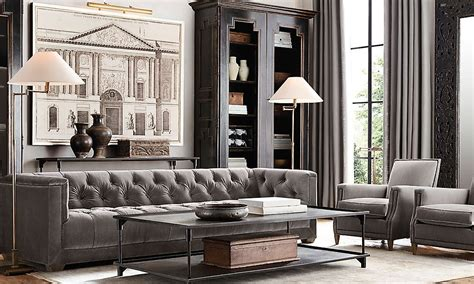 Restoration Hardware Living Room Ideas - restoration hardware is the world s leading luxury home