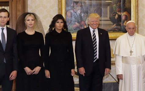 meeting  donald trump   pope  spurred