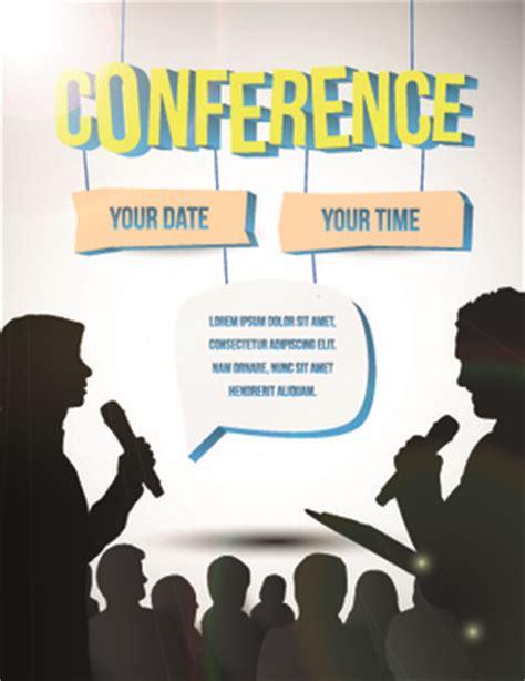 design poster conference conference brochure designs free vector download 2 443