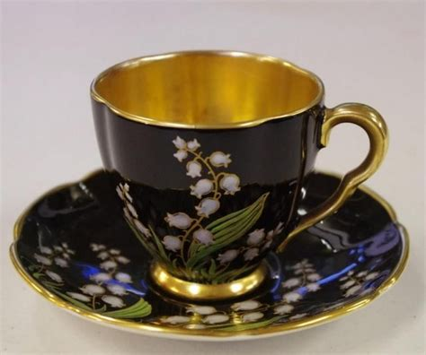 carlton ware ceramics carlton ware coffee cup and saucer decorated with