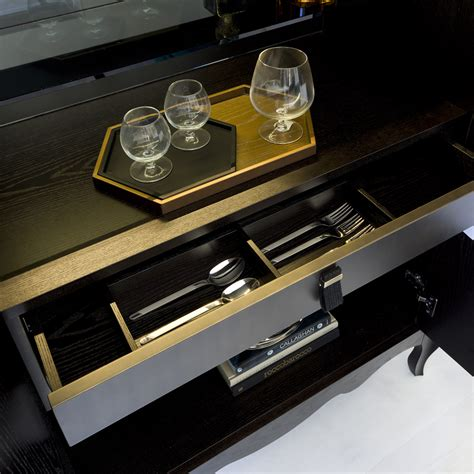 High End Modern Italian Cocktail Cabinet High End Cabinet Lighting