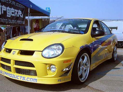 2005 dodge neon srt 4 performance parts apr front bumper canard set neon srt 4 exterior neon