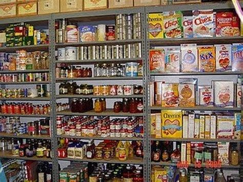 How To Organize Kitchen Cabinets Food Food Storage Pantry Cabinet Amp Workshop Office Area Update