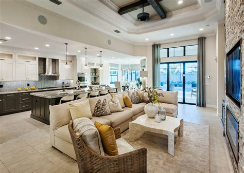 toll brothers model home interior design with nice kitchen new homes in naples fl new construction homes toll