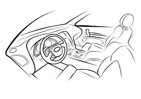 Cool Car Interior Car Interior Sketch By M3ocm On Deviantart