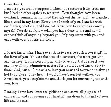 Letter To Ex Gf S Day Letter To Sle Letters