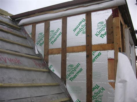 Dormer Insulation Kingspan To Dormer