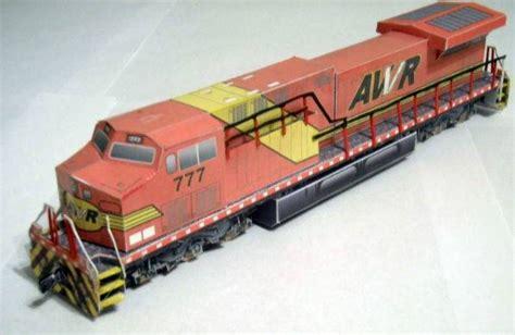 Craftowntoys Railroad Track Toys Papercraft papercraftsquare free papercraft page 2