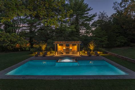 the best landscape lighting go for the glow the best landscape lighting boston
