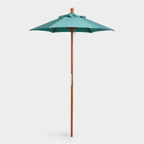 World Market Patio Umbrellas Teal 5 Ft Umbrella Canopy World Market