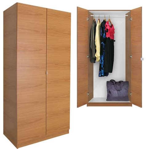 Free Standing Closet With Doors Alta Wardrobe Closet Free Standing Wardrobe With Doors Contempo Space