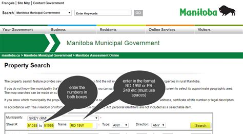 Manitoba Address Lookup Work Around How To Convert Manitoba Civic Addresses To Quarter Section Township Range