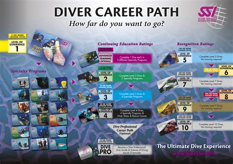 dive card ssi courses diving in