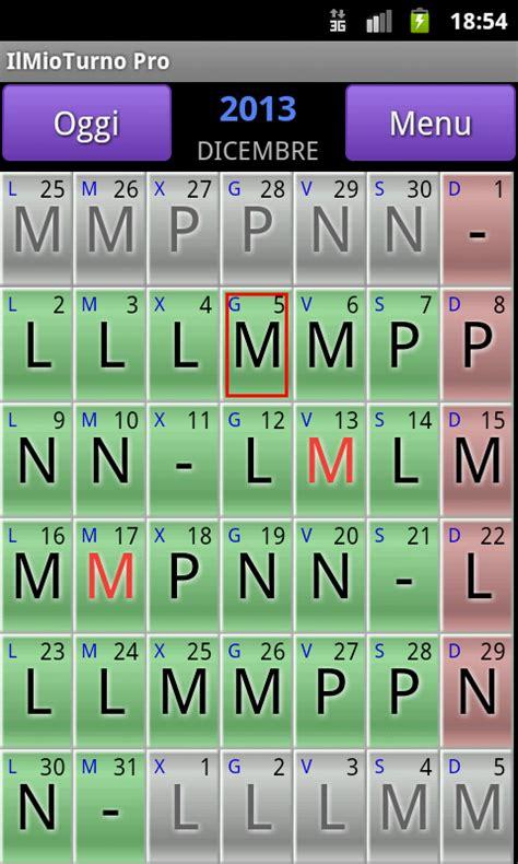 Calendario 5 Turnos Antiestres Ilmio Turno Free App Android Su Play